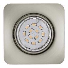 Focos empotrables de iluminación de techo de interior de acero de color principal plata