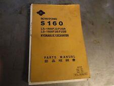 SUMITOMO  S-160 / LS-1600   PARTS MANUAL