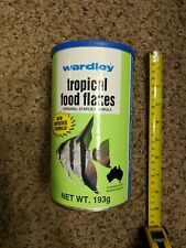 Wardley Tropical Food Flakes for Australian Aquarist 193g Large New Sealed