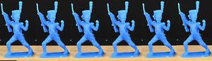 Dulcop Napoleonic Grenadier Attack Column - 60mm unpainted plastic toy soldiers