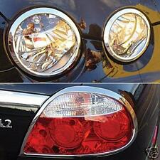 Jaguar S Type Chrome Headlight and Rear Light Trims To Fit 2005 To 2008 Models
