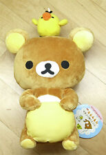 "San-X Rilakkuma Relax Bear Chick Plush Doll Toy Brown Cute Teddy 12"" Very Rare!!"