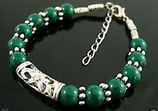 fashion Tibetan Jewelry green jade Handmade Bracelet