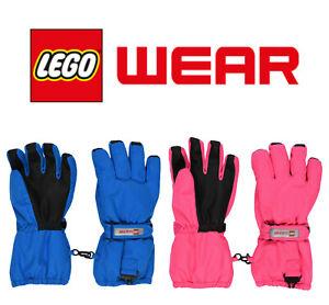 LEGO® Wear Skihandschuhe Handschuhe Mädchen Junge wasserdicht 104-164 2021-22