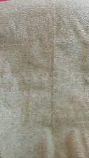 BRICK RED AND GOLD PATTERNED - VELOR FINISH - UPHOLSTERY FABRIC - 1 3/4  YARDS