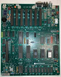 Apple IIe  Motherboard 820-0087-A, 607-0187-A -  Cleaned, Tested, Working