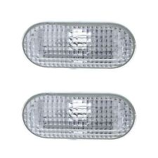 Ford Focus Mk2 2005-2008 Clear Side Indicator Repeaters Pair Left & Right