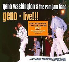 Geno Washington & The Ram Jam Band - Live! The Hit Albums [New CD] UK - Import
