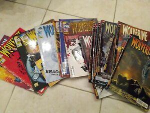 Wolverine 10-28 (140-158) sequenza completa spillati Marvel Italia