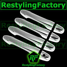 12-14 HONDA CRV CR-V Triple Chrome plated 4 Door Handle W/O PSG Keyhole Cover