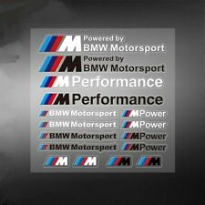 1Set New PVC M Motorsport Car Auto Sticker Decal Emblem Badge Fit for BMW M3 M5