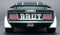 1:18 Real Art Replicas 1969 Boss 302 #33 Trans Am Mustang Alan Moffat w/COA