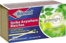 NEW DIAMOND STRIKE ANYWHERE MATCHES 48 PACKS 14400 COUNT SEALED NEW FRESH SALE
