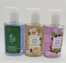 3 Bath & Body Works Hand Gel anit/Bacterial/$anitizer Pump 7.6oz each