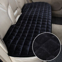 Black Universal Rear Car Auto Seat Cover Plush Protector Mat Chair Cushion UK