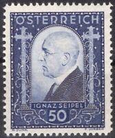 ZOR-0124 AUTRICHE 1932 N°419 IGNAZ SEIPEL MNH CV 35.00€