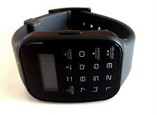 Unisex black puma calculus watch calculator silicon strap