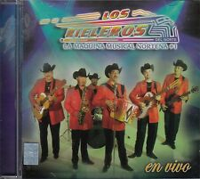 Los Rieleros Del Norte La Maquina Musical Nortena En Vivo  CD New Sealed