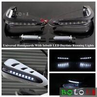 "22mm 7/8"" Handlebar Hand Guards Raptor w/ LED Light For Suzuki DRZ/RMZ Off-road"
