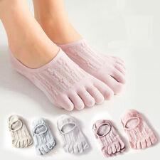 5 pairs socks women cotton ankle socks women Toe Socks Finger sock cute net mesh