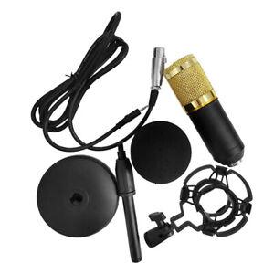 BM-800 Microfono a condensatore portatile portatile ad alta sensibilità C4W5