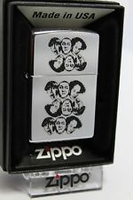"""ZIPPO """" 3 têtes THE STOOGES """" - XII / 1996 - CHROME P"""