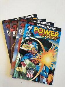 MALIBU Comics POWER & GLORY #1B-4