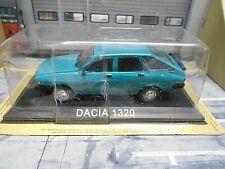 DACIA 1320 Scjhrägheck Limousine grün green Rumänien Atlas Altaya S-Preis 1:43