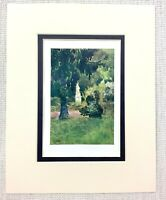 1906 Antik Aufdruck The Kings Garten Grove Palast Of Versailles Frankreich Louis