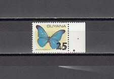 Guyana, Scott cat. 1812. Butterfly Definitive value Surcharged 25.
