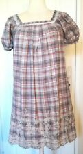 Dress Checked See u Soon SIZE S/M Very Good Condition (C53)