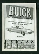 Vintage Photo Giant Billboard Sign New 1967 Buick Riviera Car 402193
