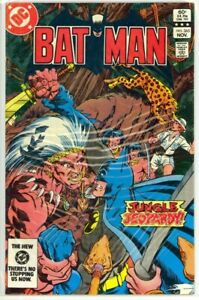 BATMAN #365 Jungle Jeopardy Bronze Age (1983) DC Comics VF (8.0)
