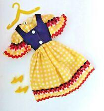 Petra #5849 Outfit Plasty Boutique Dirndl TOP Komplett Vintage 70er Germany