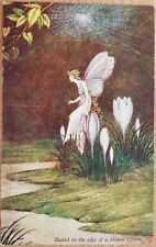 Ida R Outhwaite, Series 74 Elves & Fairies, Blossom, Postcard