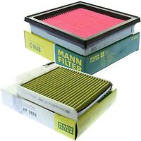 Mann-filter Set for Nissan Micra III K12 1.0 16V 1.2 C E11 NE11 1.4