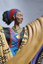 "Duncan Royale By Albert Fennell ""Cultural Rhythm"" Figure Statue. (Year 2000)"