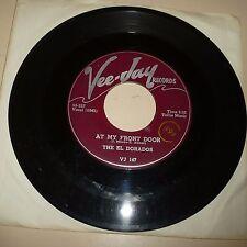 DOOWOP 45 RPM RECORD - THE EL DORADOS - VEEJAY 147