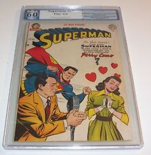 Superman #67 - Graded Fine 6.0 - 1950 DC Golden Age issue (Perry Como cover)