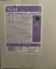 Nutricia Flocare Container 500ml With Pack Caps Sterile 10 Bottles!