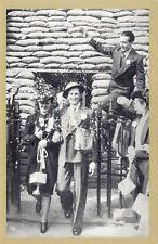 Nostalgia Postcard WW2 1939 Sandbag Wedding, Islington Reproduction Card NS50