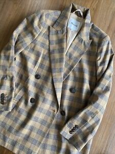 Madewell Blazer Size M New Without Tag Beige Brown Color