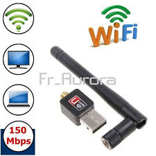 150Mbps 802.11N/G/B USB 2.0 WiFi Antenna Wireless Network LAN Card Adapter