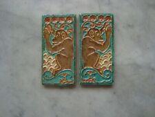 rare Royal Delft Cloisonne tiles monkeys 1920  porcelijne fles