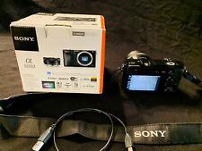 Sony Alpha a6000  24.3 MP Digital Camera with E PZ OSS 16-50mm Lens - Black