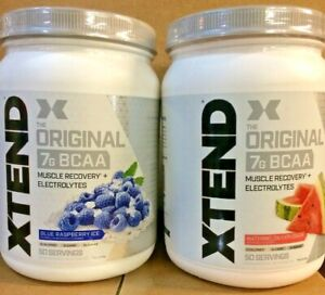 Xtend The Original 7g BCAA Muscle Recovery+Electrolytes 50 Servings PAST DATE