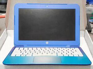 HP Stream 11-d010wm Laptop Blue, Windows 10, Functions (Palmrest not working)
