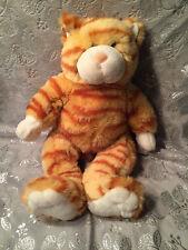 "BUILD A BEAR WORKSHOP PLUSH ORANGE STRIPED TIGER CAT   16"""