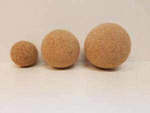 Massageball, Massage-kugel, Fazien-kugel, Faszienball in 3 Größen, 100% vegan