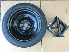 """12-20 Ford Focus Fusion 16"""" Wheel Steel Rim Spare Tire T125/80R16 Scissor Jack"""
